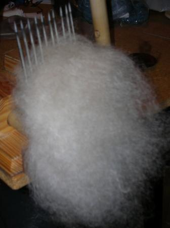mohair on combs