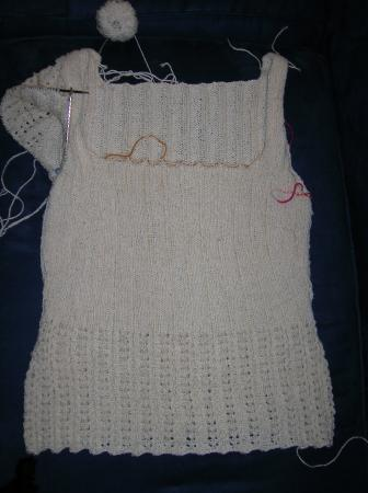 summer sweater body done