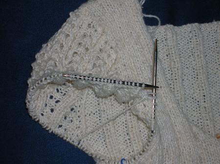 sleeve on summer sweater