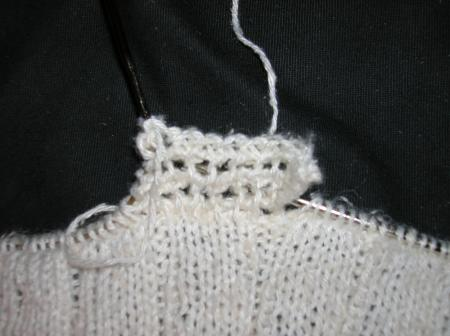 edging on simple summer sweater