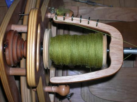 lime green sw on bobbin 8-30-06