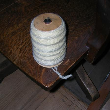 Suffolk lambswool on bobbin