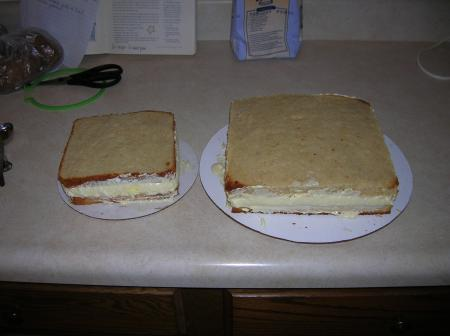 filled cakes