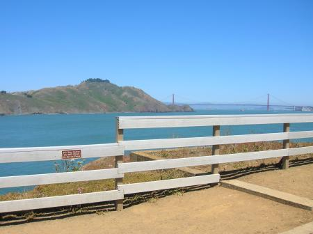 Point Bonita view of Golden Gate
