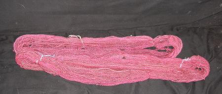 rose wool washed and unwashed